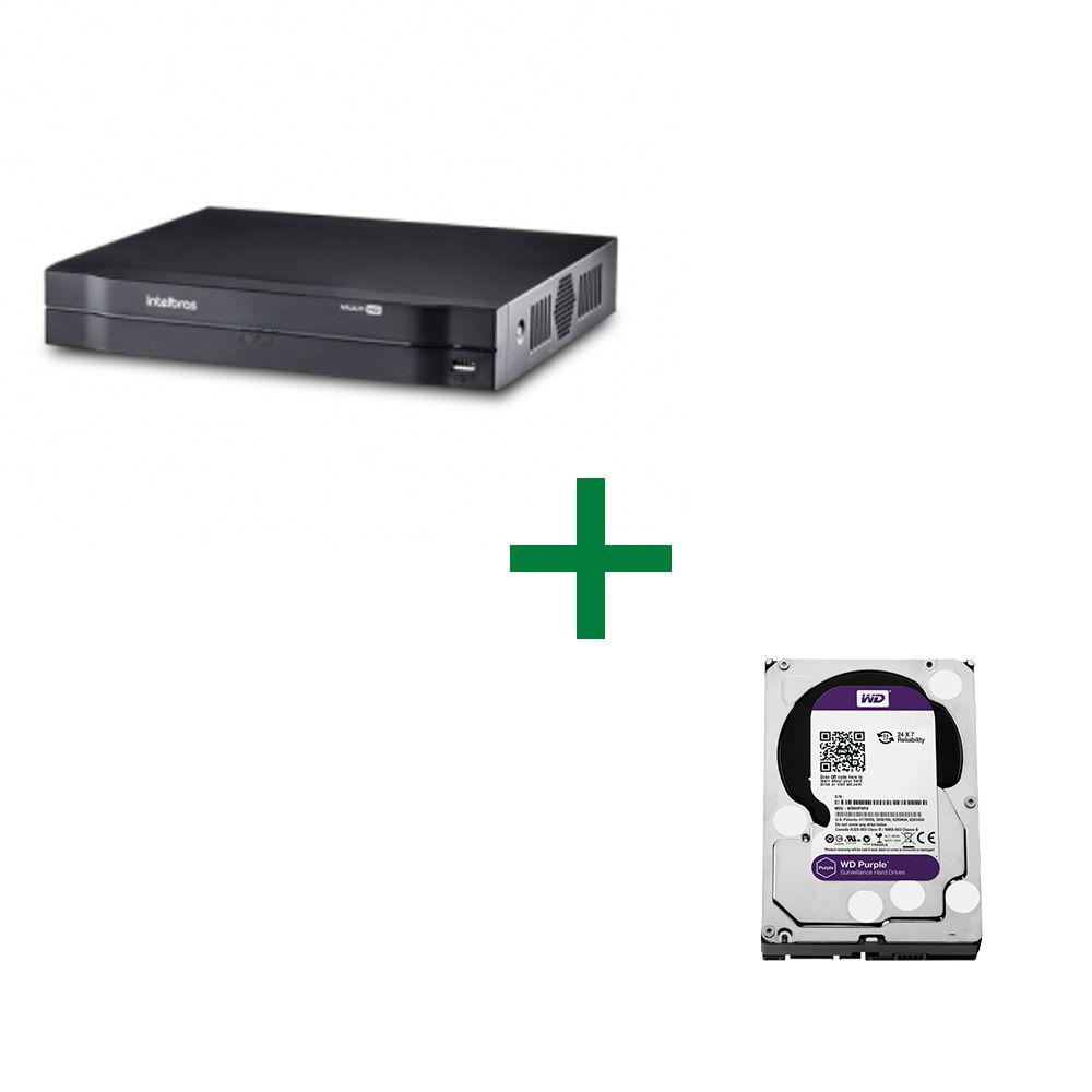 MHDX 1008 Gravador Digital de Vídeo Com HD Purple 2TB