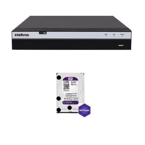 Mhdx 5108 4k Gravador Digital De Vídeo 08 Canais 4k Com HD 4TB