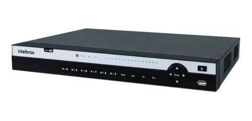MHDX 5216 Gravador Digital de Vídeo 16 Canais 4K Ultra HD Intelbras