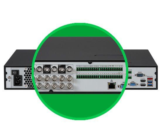 MHDX 7116 Gravador digital de vídeo 16 canais Intelbras