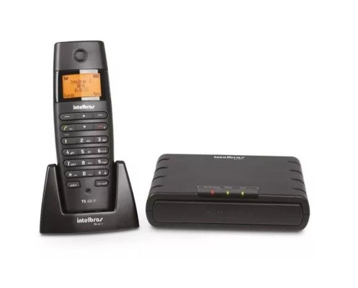 Micro Central Telefônica Ip Dect Intelbras Ts 60 Ip Pt