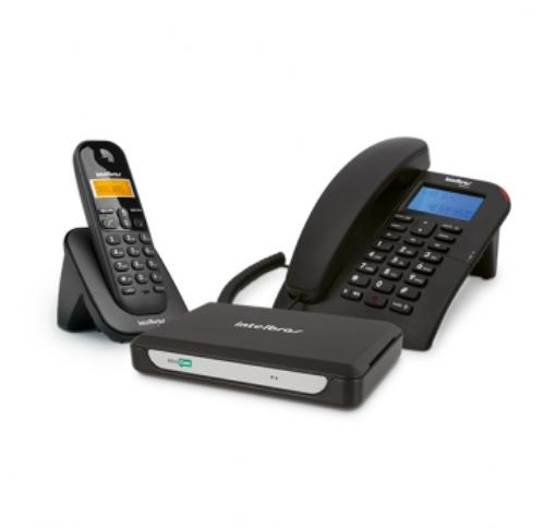 MiniCom Slim Sistema de comunicação telefônica para microempresa