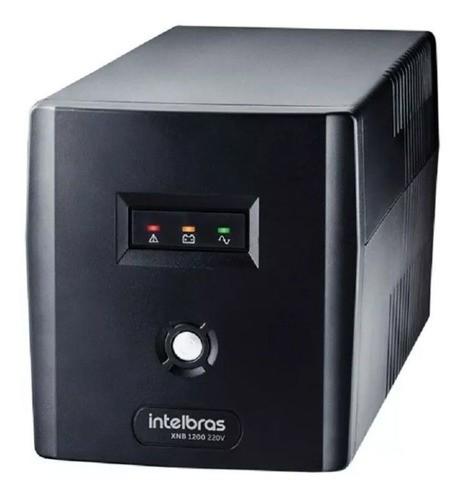 Nobreak Alimentação Dvr Segurança Cftv Intelbras Xnb 1200 Va - 220v