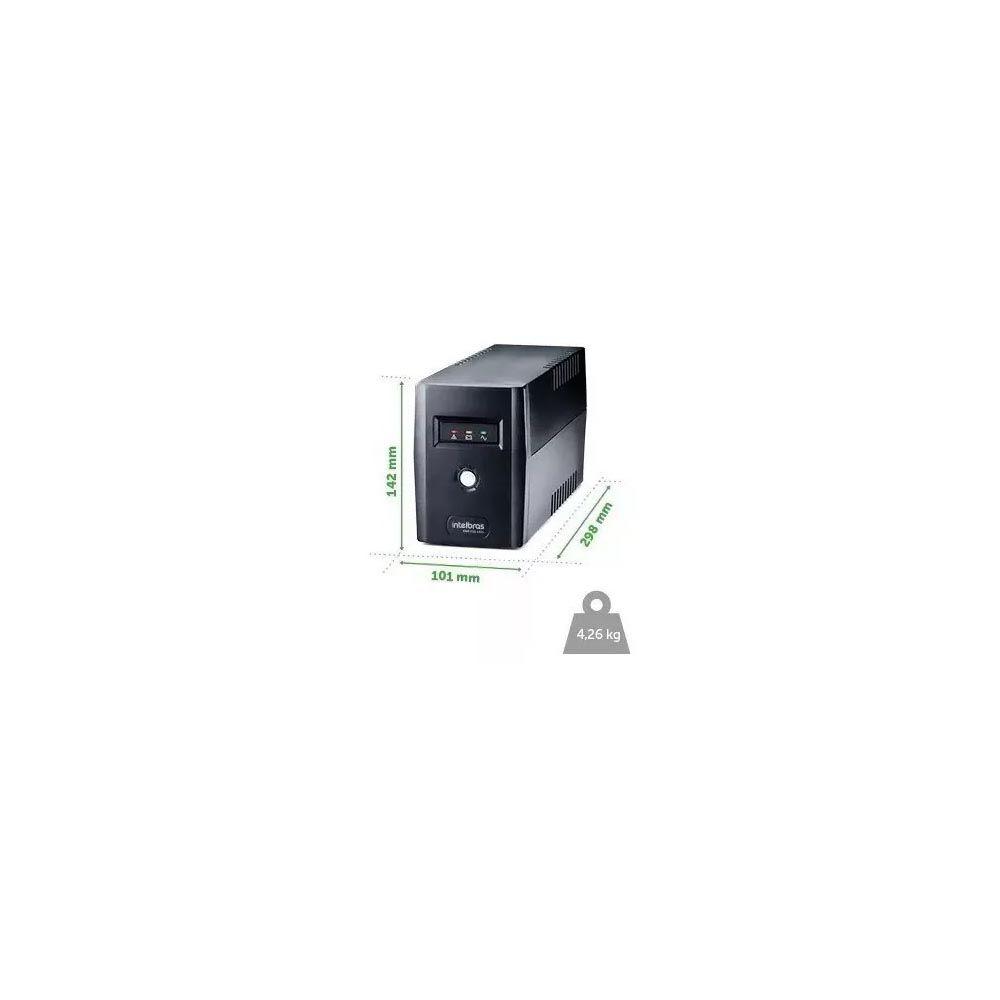 Nobreak Intelbras Xnb 720va 120V Pc Videogame Drv Câmera Notebook