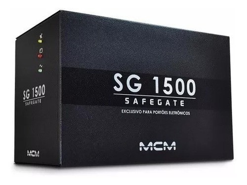 Nobreak P/ Portao Eletronico 1500va Mcm Sg 1500 Safegate