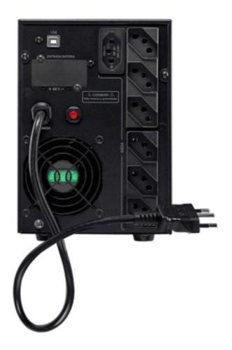 Nobreak Snb2000 Va Bivolt Senoidal Pura Bext Cftv Intelbras