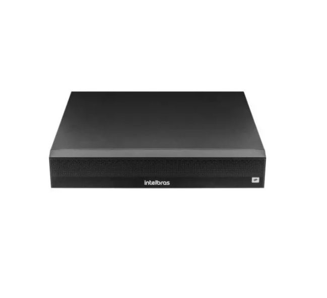 Nvr 4 Canais Camera Ip Dvr Intelbras Cftv Ultra Hd Nvd 1304 6MP