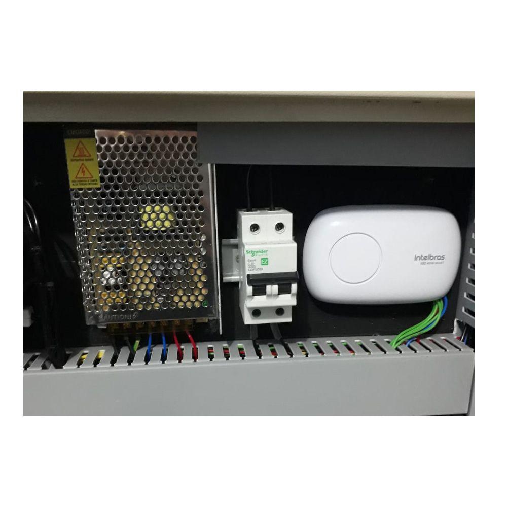 Painel Rack Cftv 16 Canais HD C/ HD 1TB e Central Alarme Gprs Ethernet