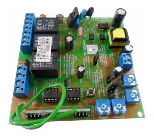 Placa Central Eletrônica Portão Eletrônico Peccinin CP 4000