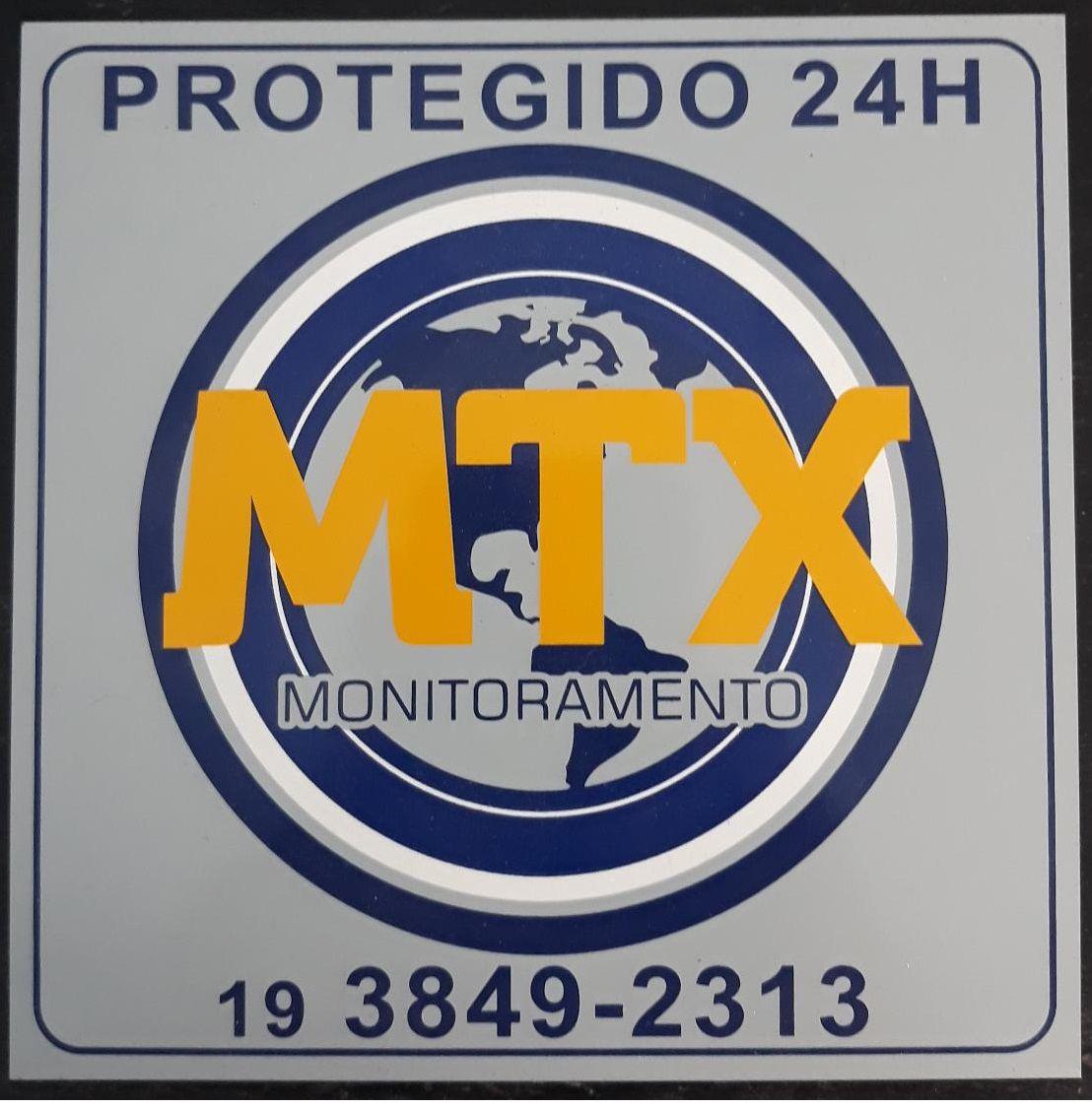 Placa Monitoramento MTX (Antiga) 15cm x 15cm