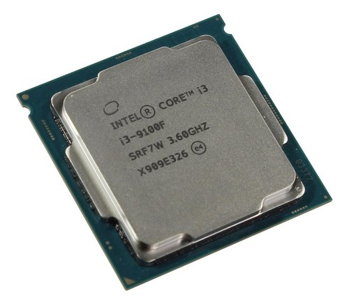 Processador gamer Intel Core i3-9100F BX80684I39100F de 4 núcleos e 4.2GHz de frequência