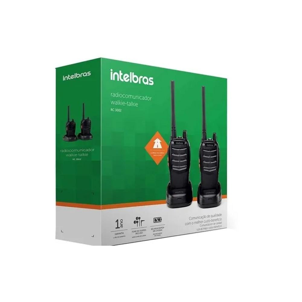 RC 3002 Radiocomunicador Intelbras longo alcance par