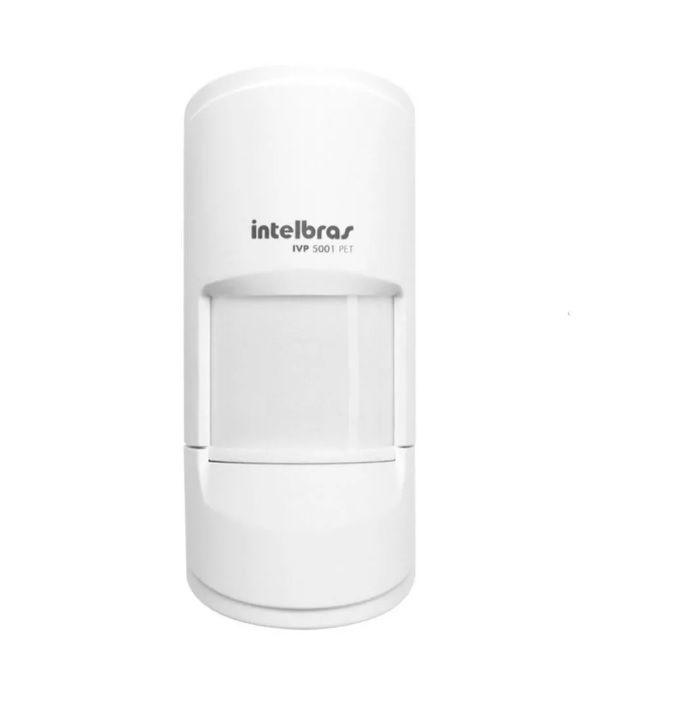 Sensor Infravermelho Passivo C/ Fio Intelbras Ivp 5001 Pet