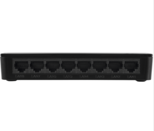SF 800 Q+ Switch 8 portas Fast Ethernet