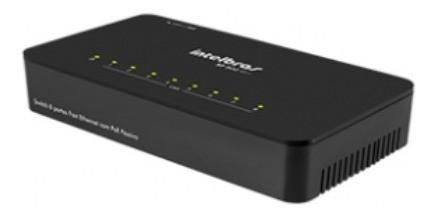 SF 800 Q+ Switch 8 portas Fast Ethernet
