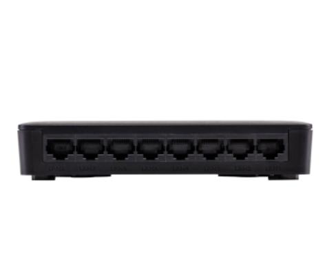 SF 800 Q+ ULTRA Switch 8 portas Fast Ethernet com proteção antissurto