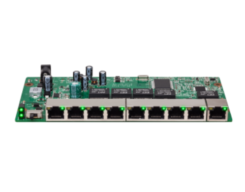 SF 910 PAC Switch 9 portas com 8 portas Fast Ethernet