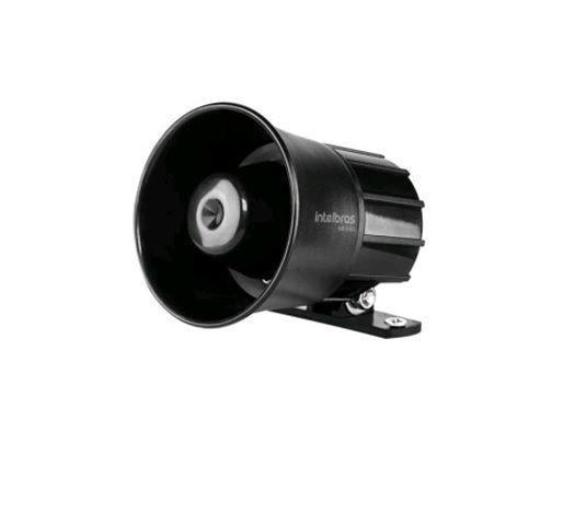 SIR 1000 Sirene com fio 9 a 15 VDC/105 dB para sistema de segurança Intelbras