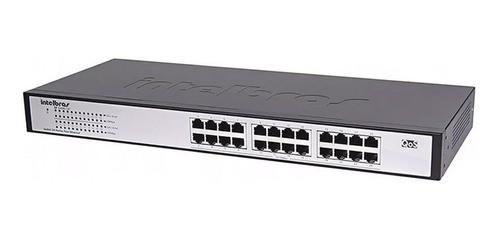 Switch 24 Portas Fast Ethernet Intelbras Sf 2400 Qr+