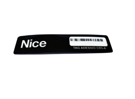 Tag Adesivo Veicular CR5-A 915 Mhz Linear-Hcs Nice Peccinin