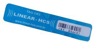 Tag Veicular Adesivo Linear CR-4A