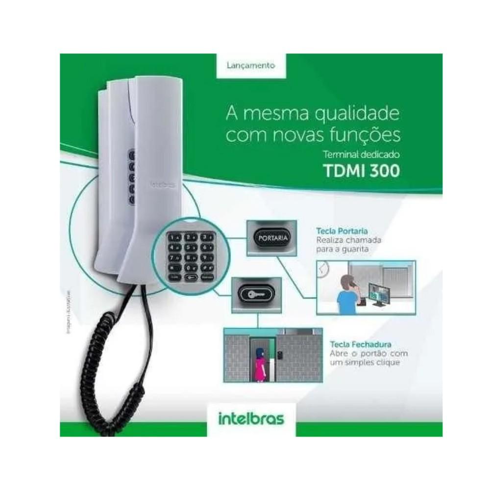 TDMI 300 terminal dedicado para condomínios