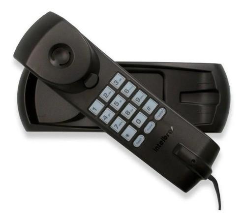 Telefone Gôndola Intelbras Tc 20 Mesa Parede Com Fio Preto