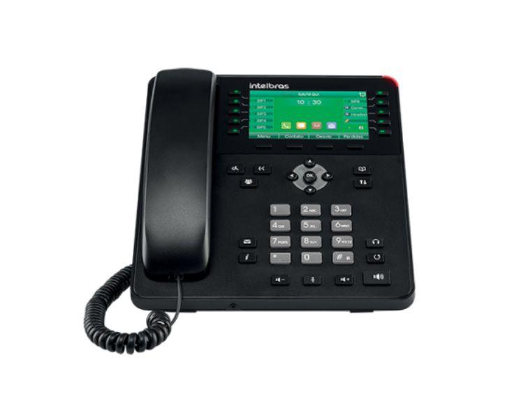 Telefone IP Giga TIP 635G Intelbras Chamada Vídeo Usb Sip