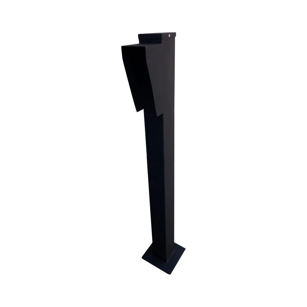 Totem Pedestal Para Controle de Acesso Condomínios Pintura Eletrostática