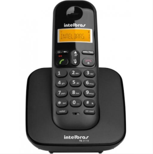 TS 3110 Telefone sem fio digital Intelbras