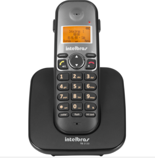 TS 5120 Telefone sem fio digital Intelbras