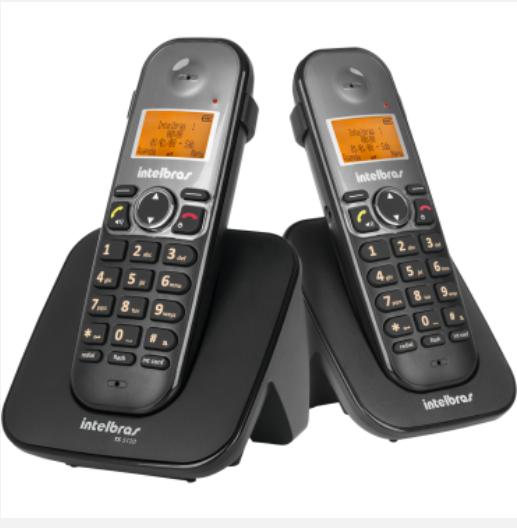 TS 5122 Telefone sem fio digital com ramal adicional