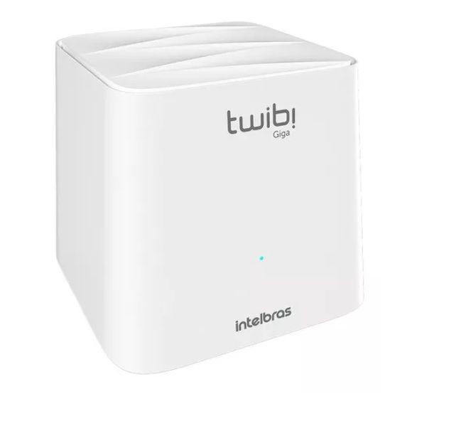 TWIBI GIGA Sistema Wi-Fi Mesh Intelbras Módulo 1 Unidade