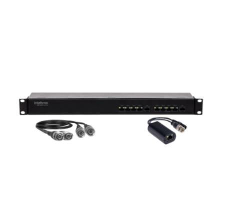 VBP A08C Full HD Power Balun Full HD 8 Canais