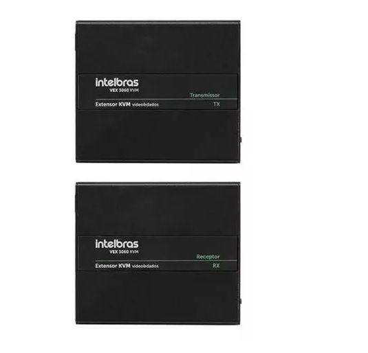 VEX 3060 KVM Extensor KVM (Vídeo e Dados) Intelbras