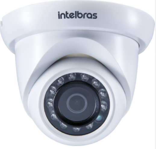 VIP S4320 G2 Câmera IP dome 3 MP Lente 2,8MM