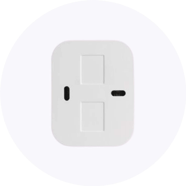 XAS Smart Sensor de abertura magnético sem fio Intelbras