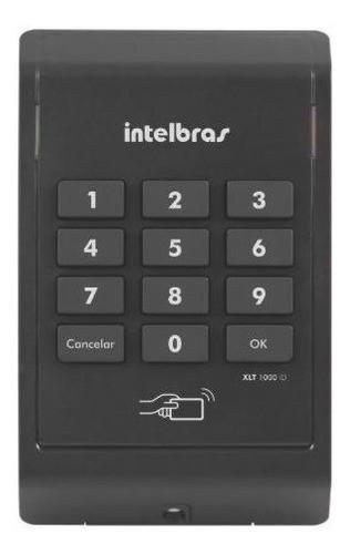 Xlt 1000 Id Leitor De Rfid Com Teclado Numérico Intelbras