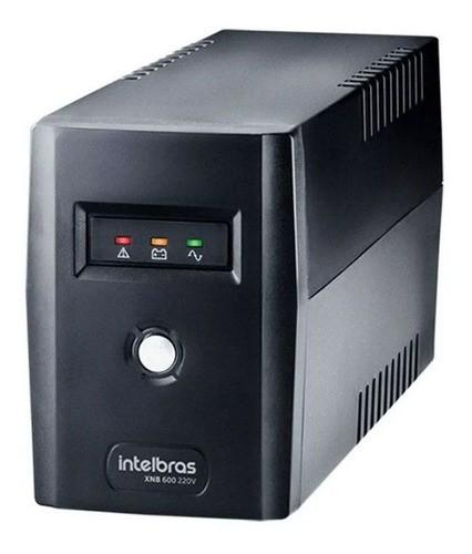 Xnb 600 Nobreak 600 Va 120v Intelbras Para Cftv Dvr Camera