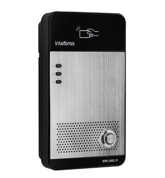 XPE 1001 IP Porteiro eletrônico IP de tecla única Intelbras