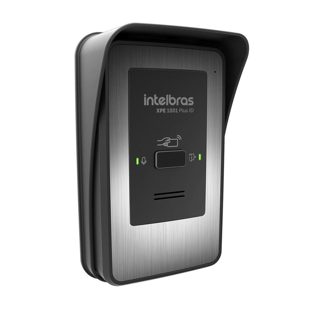 XPE 1001 PLUS ID Porteiro eletrônico de tecla única Intelbras