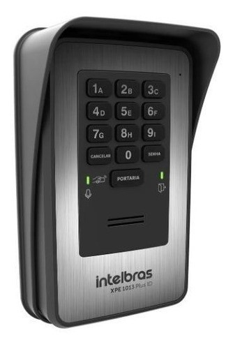 XPE 1013 PLUS ID Porteiro eletrônico de 13 teclas Intelbras