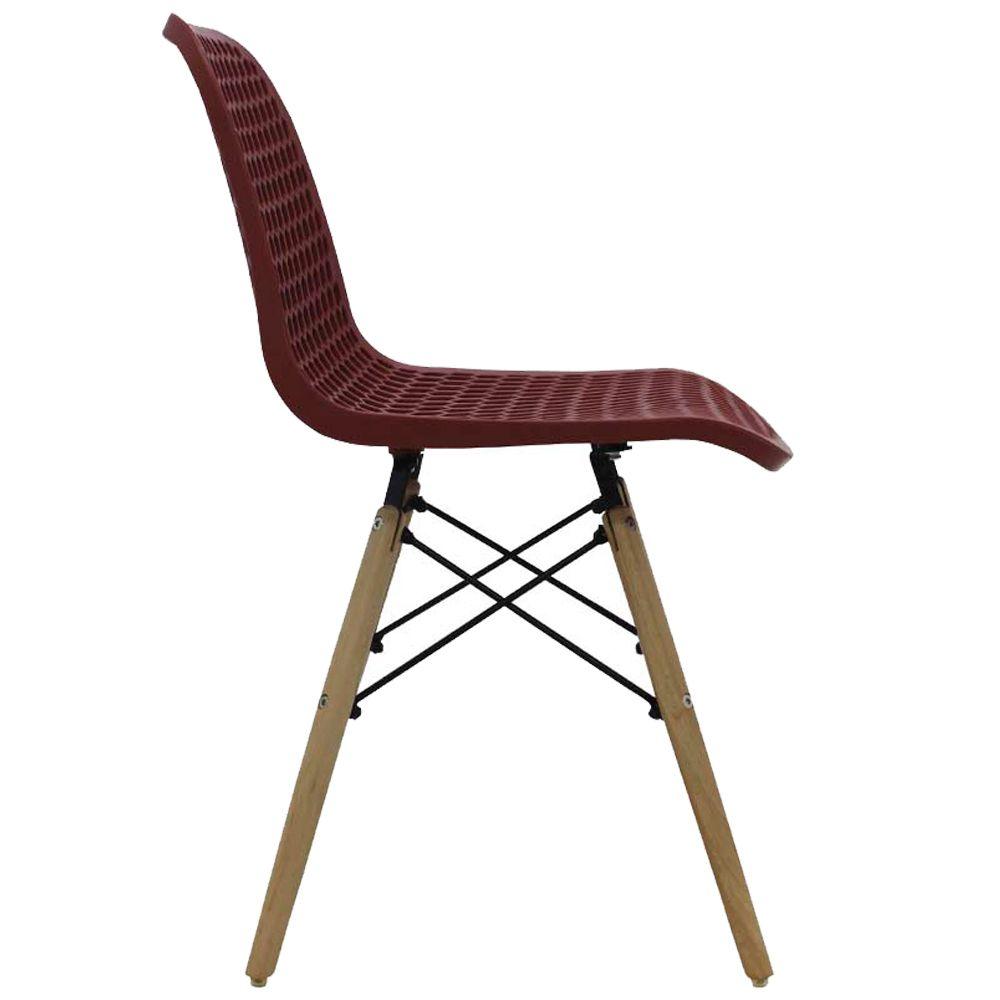 Kit 4 Cadeiras Decorativas Sala e Cozinha Haney (PP