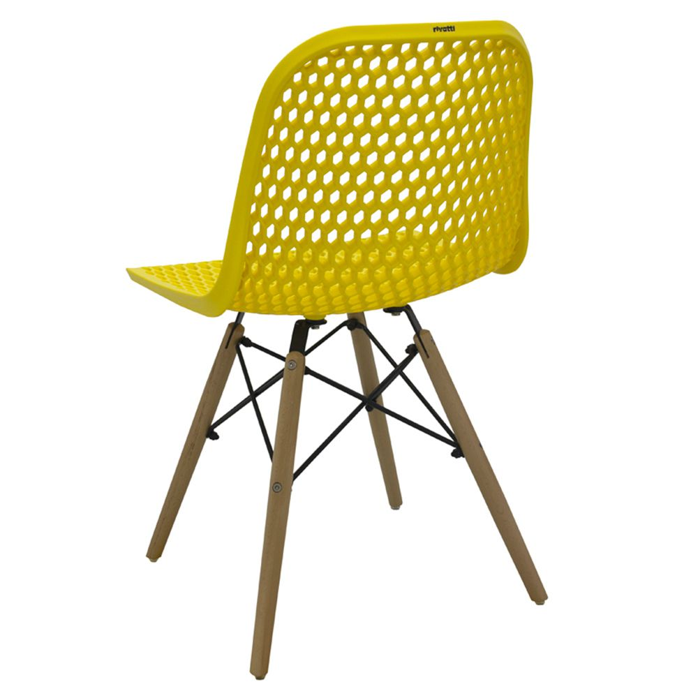 Kit 5 Cadeiras Decorativas Sala e Cozinha Haney (PP