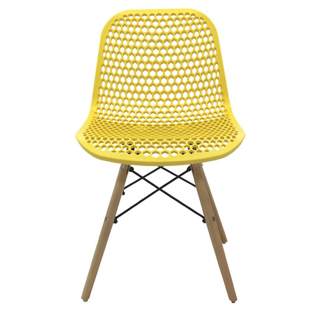 Kit 6 Cadeiras Decorativas Sala e Cozinha Haney (PP