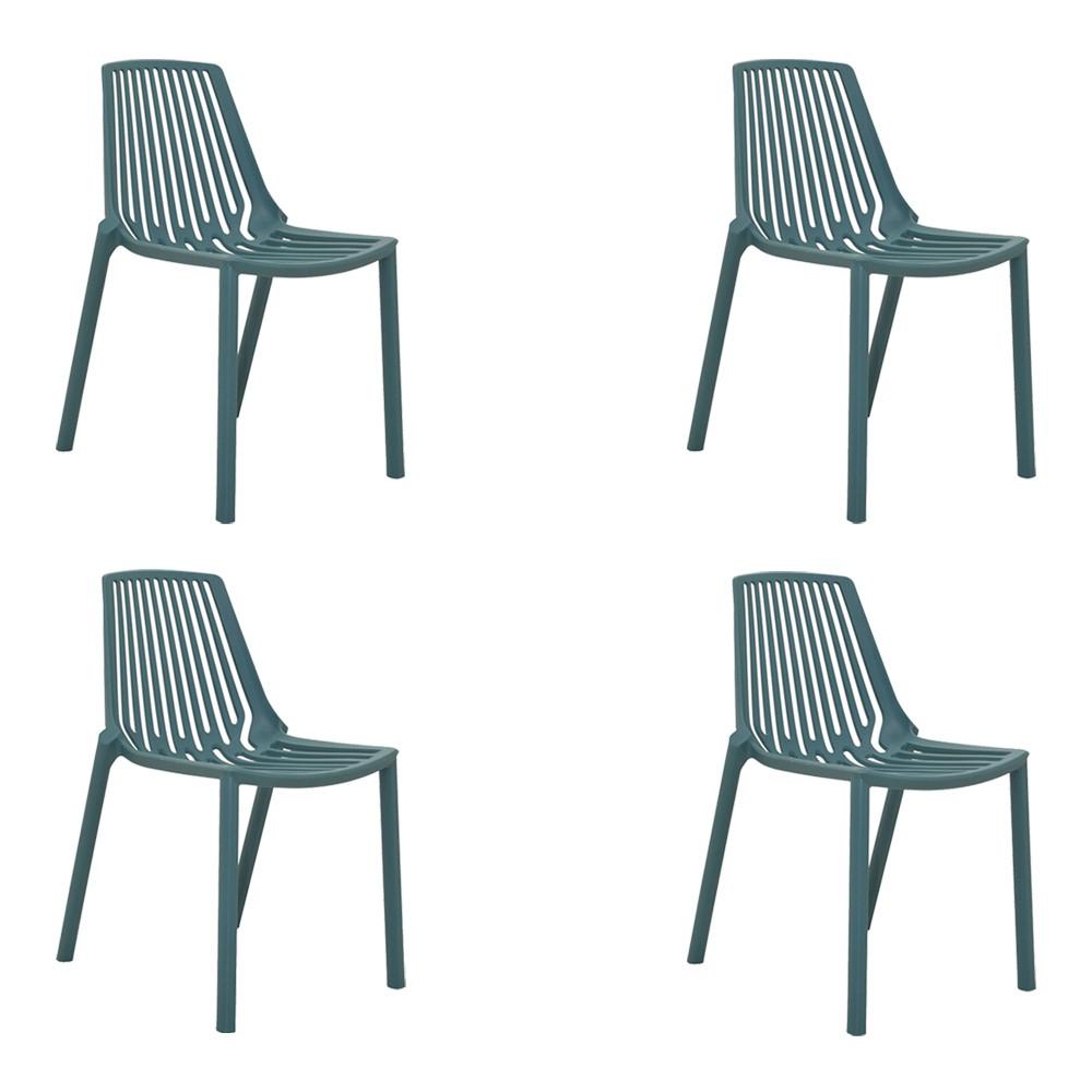 kit 4 Cadeiras Decorativas Sala e Cozinha Feliti (PP
