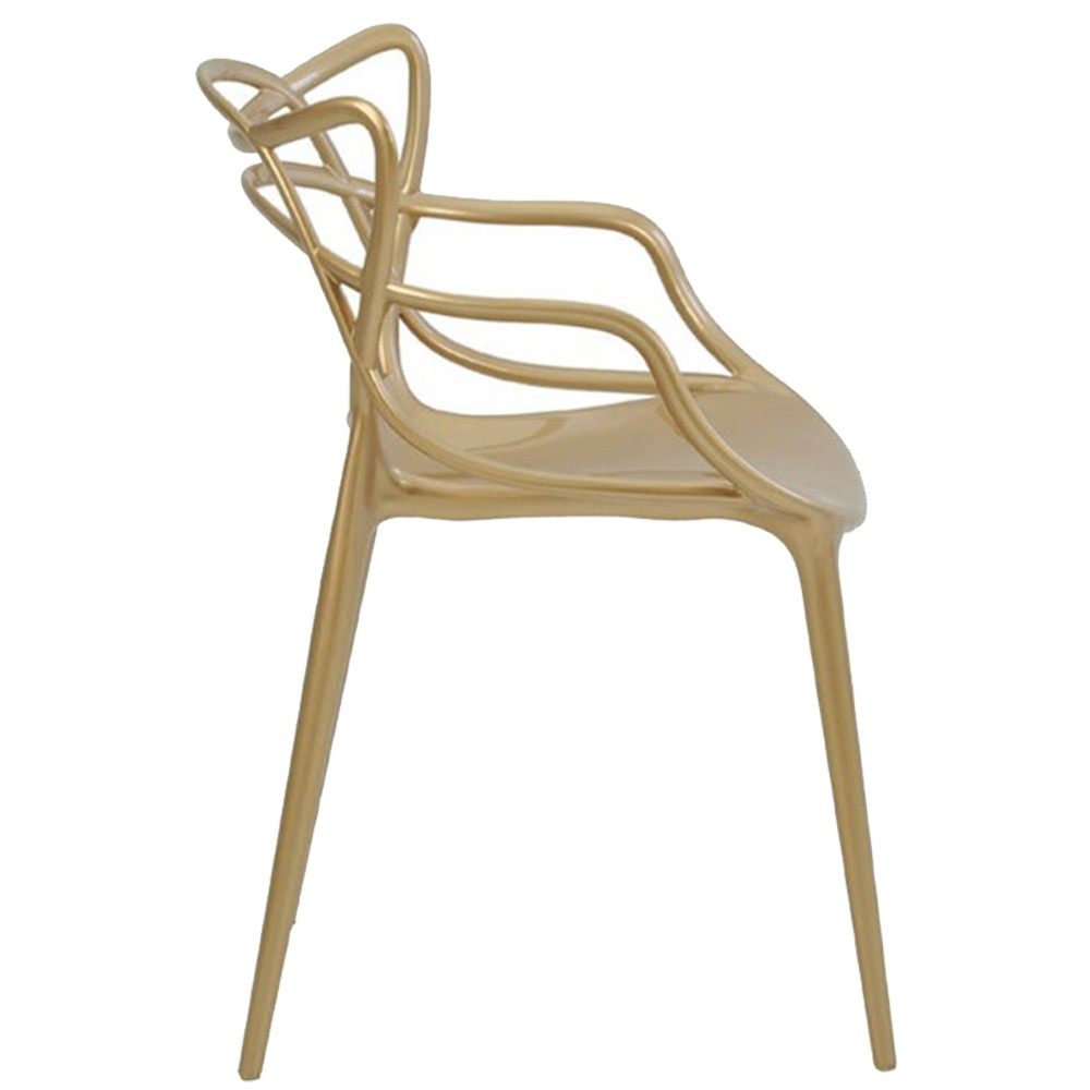 Kit 5 Cadeiras Decorativas Sala e Cozinha Cruzzer (PP