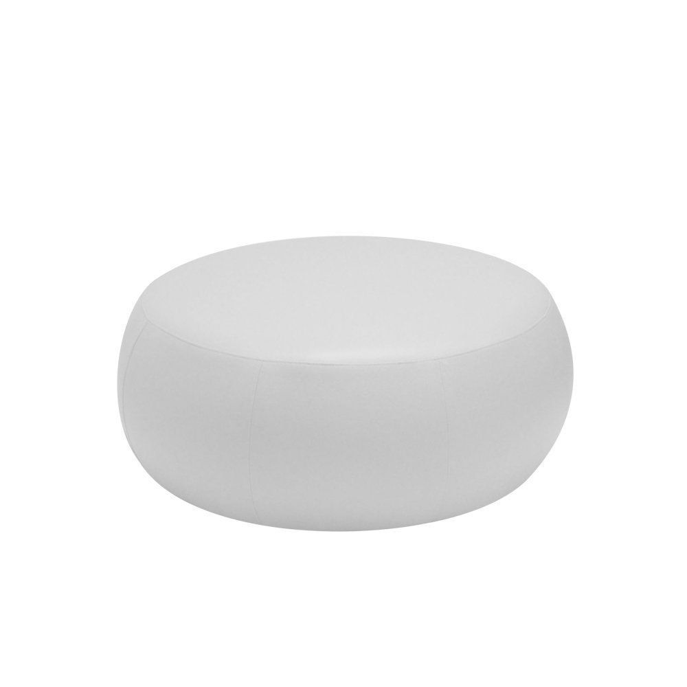 Puff Cleo 105cm Corano Branco - Gran Belo