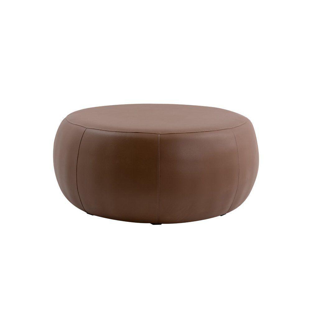 Puff Cleo 105cm Corano Marrom- Gran Belo