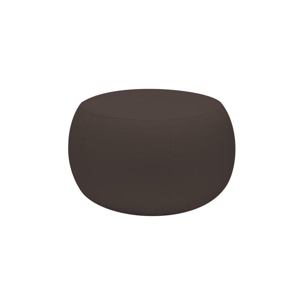 Puff Cleo 70cm Corano Marrom - Gran Belo